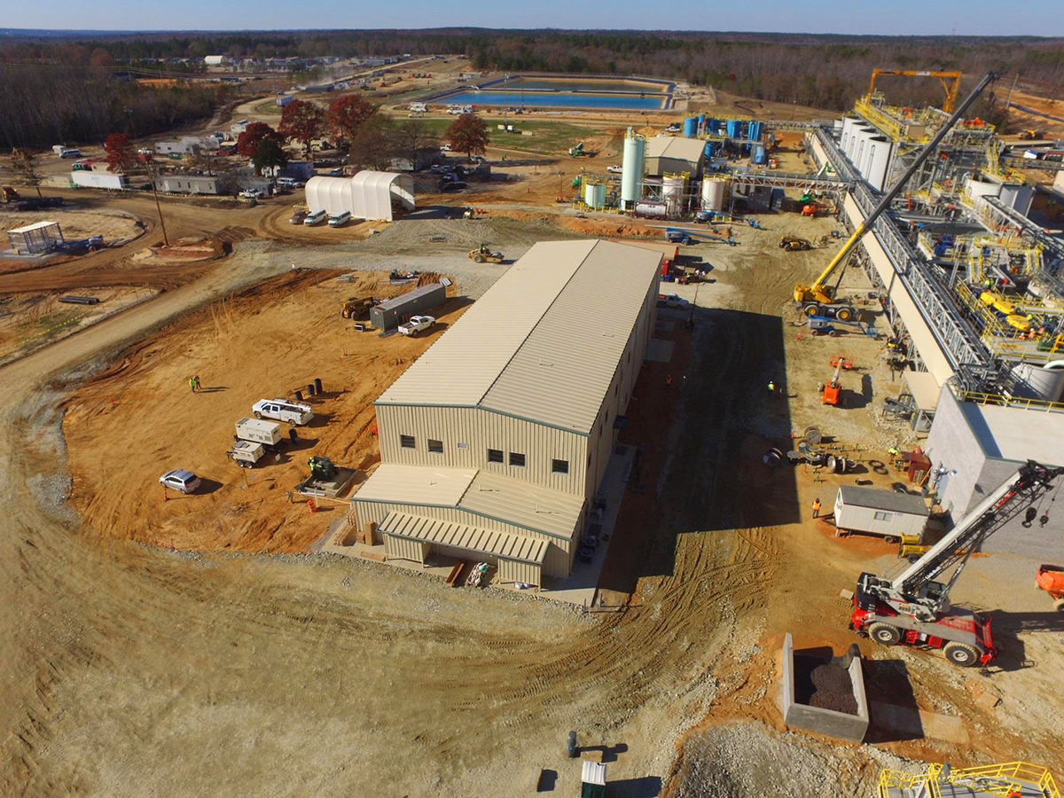 Haile Gold Mine Oceana Gold Operation JM Cope Rock Hill South Carolina General Contractor Construction Program Management Manager CM At Risk Design Bid Build General Contracting CM Agency Commercial Education Interiors Faith Based Churches Historic Tax Credit Hospitality Industrial Manufacturing Interiors Medical Office Municipal